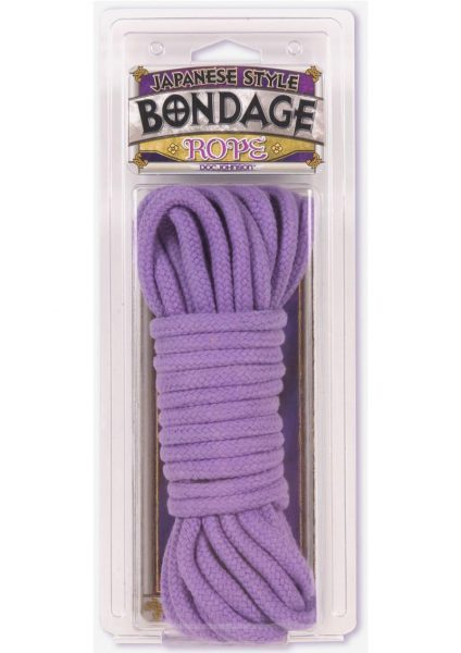 Purple Cotton Bondage Rope