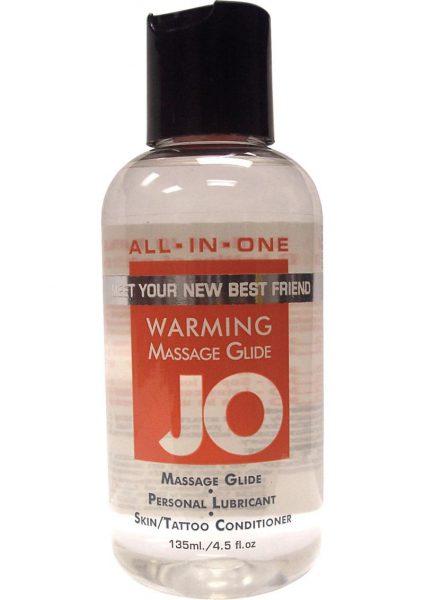 Jo 4.5oz Sensual Massage Oil Warming