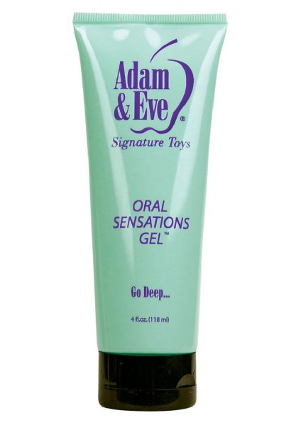 Oral Sensations Gel 4oz Tube