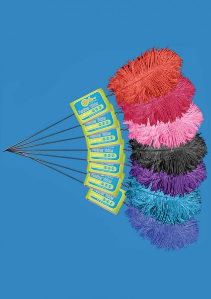 Feather Tickler – Lusty Turquoise