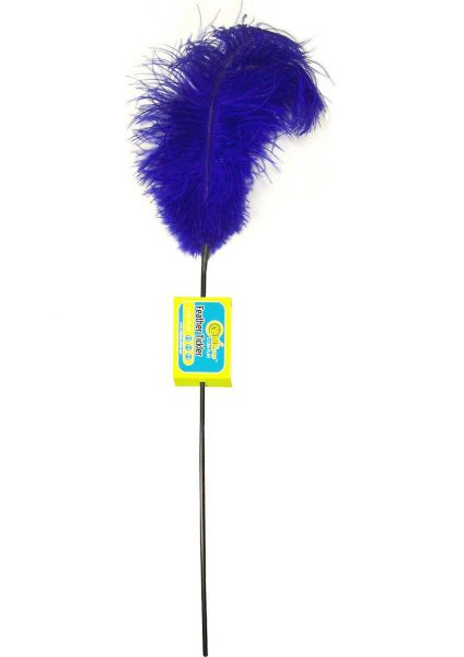 Feather Tickler – Pasion Blue