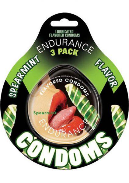 Spearmint Endurance Condom 3pk