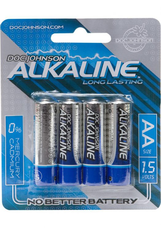 Doc Johnson AA 4 Pack Alkaline Battery