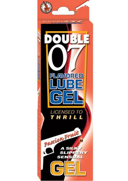 Double 07 Flav Lube Gel – Passion Fruit