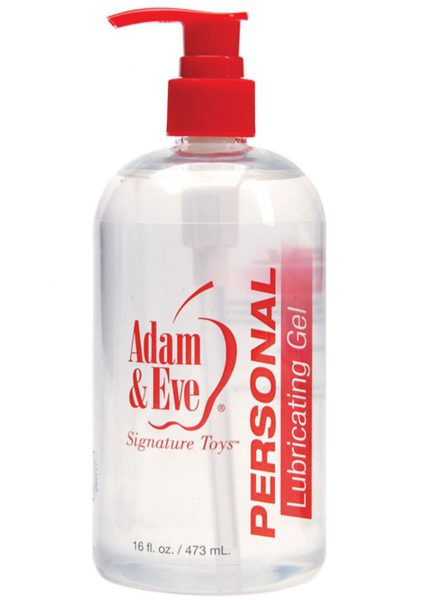 Adam and Eve Personal Lube 16oz Pump