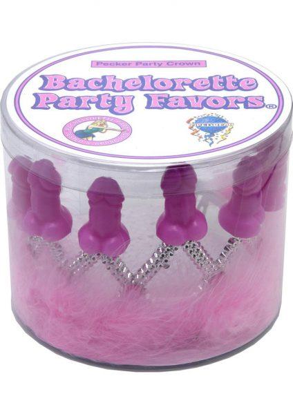 Bachelorette Pecker Party Crown