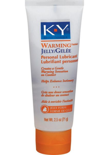 KY Warming Jelly 2.5 Ounce