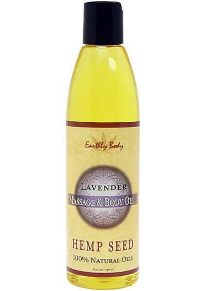 Lavender Massage Oil with Hemp Seed