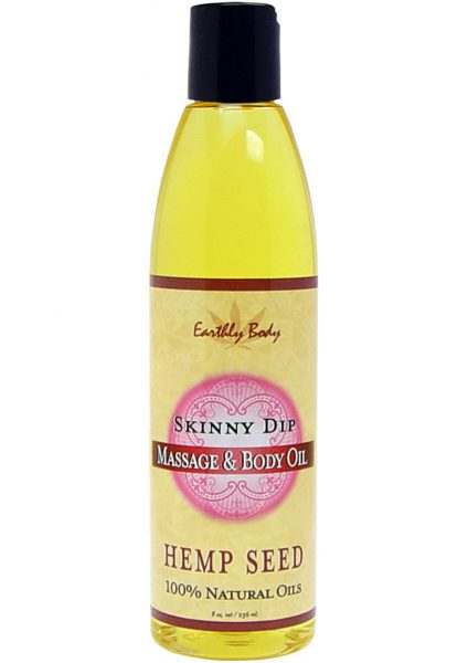 Skinny Dip Massage Oil with Hemp Seed
