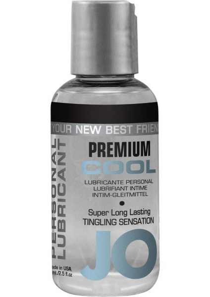 Jo Premium Cool Silicone Lubricant Tingling 2.5 Ounce
