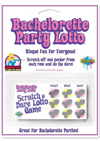 Bachelorette Lotto 12 Pack