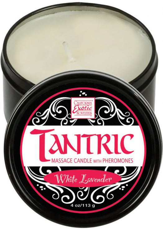 Tantric Massage Candle White Lavender