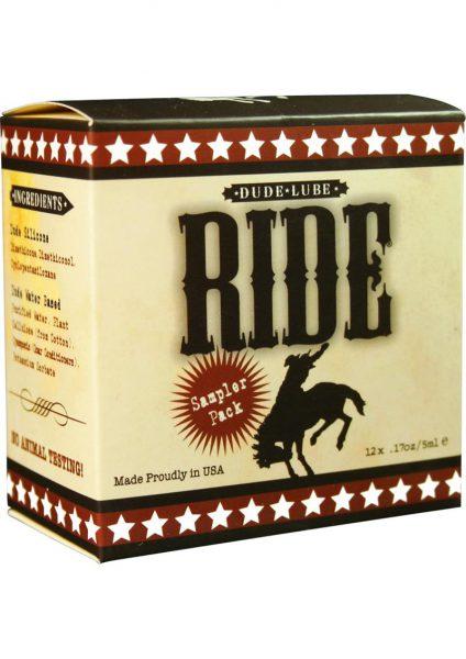 Dude Lube Ride Sampler Pack