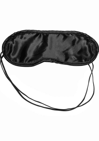 Sex Mischief Satin Blindfold – Black