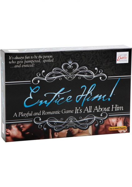 Entice Him Game It's All About Him Board Game