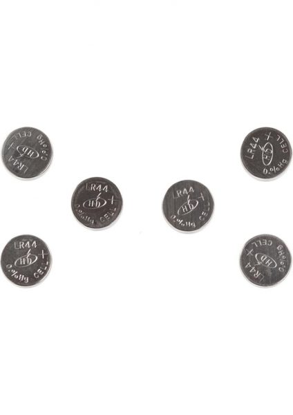 Zero Tolerance Cross Bones Lr44 Batteries 6 Per Pack