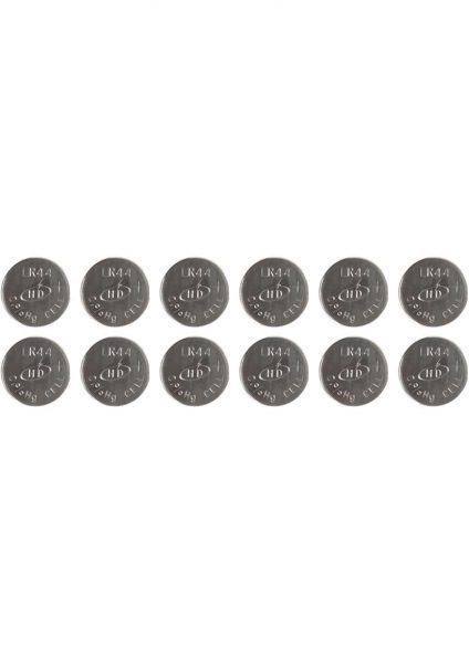 Zero Tolerance Cross Bones Alkaline Batteries 12 Per Pack