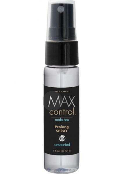 Max 4 Men Max Control Male Sex Prolong Spray Unscented 1 Ounce