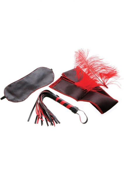 Scarlet Couture Bondage Kit Red/Black
