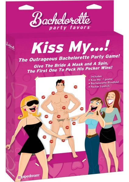 Bachelorette Party Kiss My Party Game