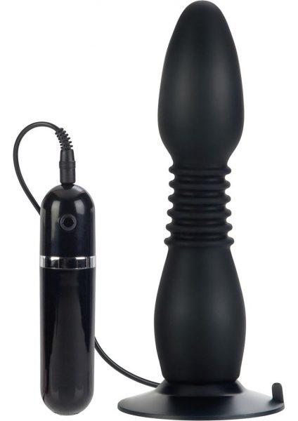 Colt Easy Flex Glider Silicone Butt Plug Black