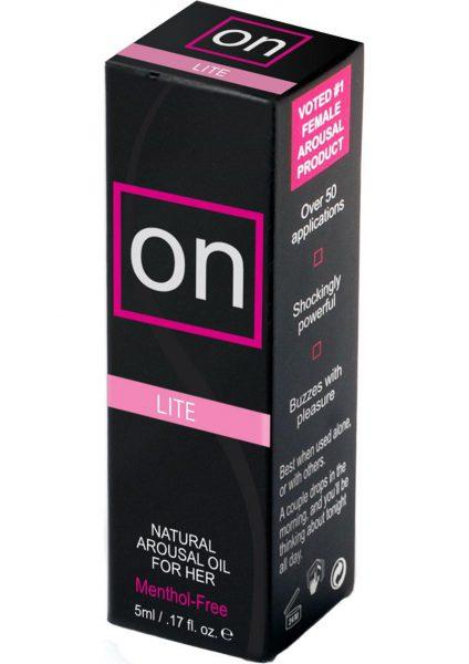On Arousal Oil Light For Her .17 Ounce Bottle