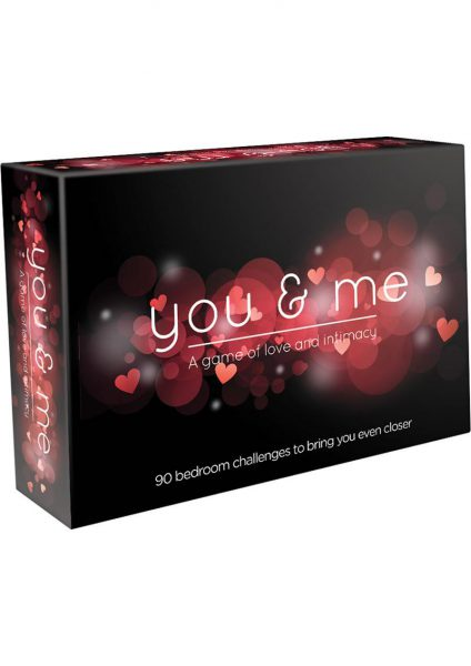 You and Me Couples Card Game