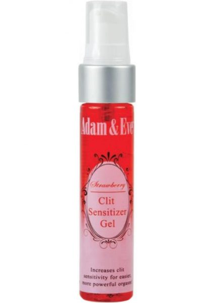 Adam and Eve Strawberry Clit Sensitizer 1 Ounce