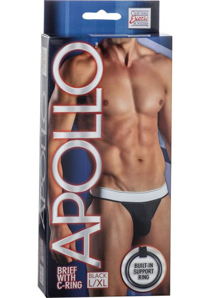 Apollo Brief With C-Ring Black Large/Xtra Large