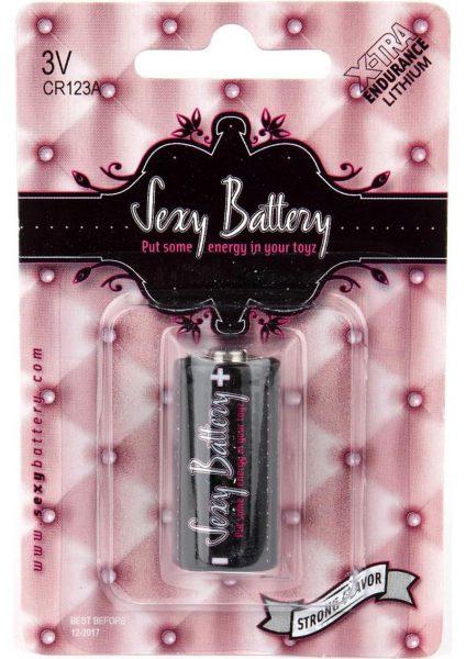 Sexy Battery Xtra Endurance Lithium CR123A/ 3V 1 Each