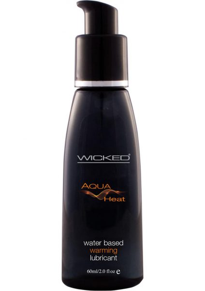 Wicked Aqua Heat Water Based Warming Lubricant 2 Ounce