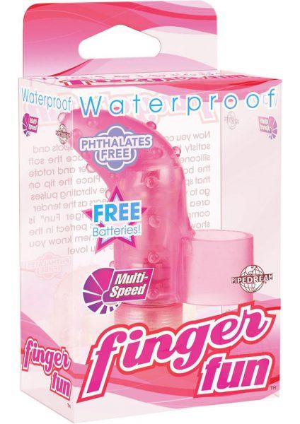 Waterproof Finger Fun Pink