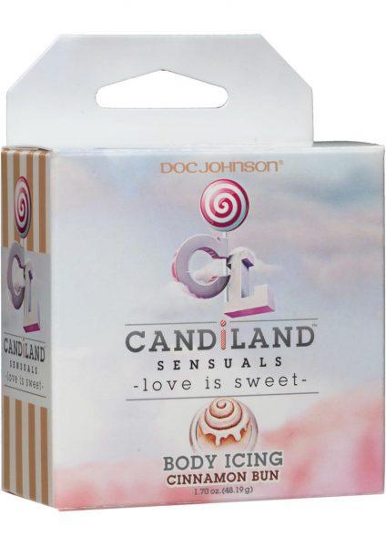 Candiland Sensuals Body Icing Cinnamon Bun 1.7 Ounce