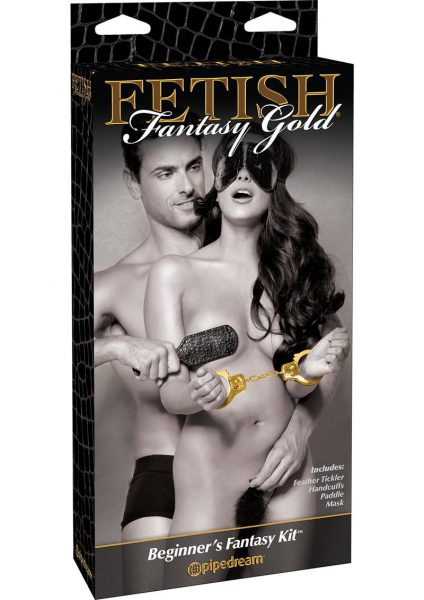 Fetish Fantasy Gold Beginner's Fantasy Bondage Kit Black/Gold