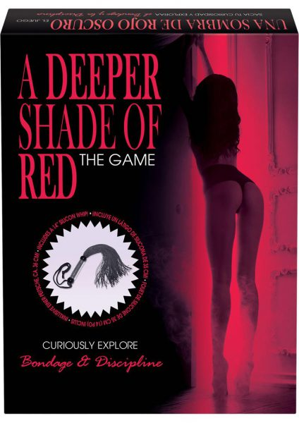 A Deeper Shade Of Red Bondage Board Game