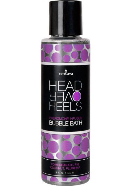 Head Over Heels Bubble Bath Pomegranant 8oz
