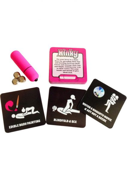 Kinky Vibrations Game With Waterproof Bullet