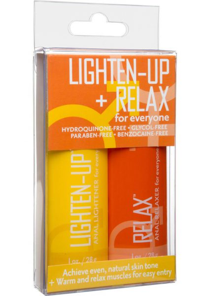 Lighten Up And Relax For Everyone 2 Pack Set 1 Ounce Each Per Bottle