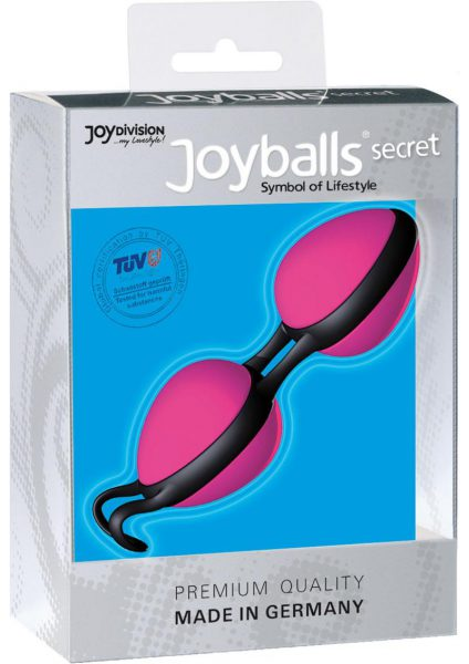 Joyballs Secret Dual Silicone Kegel Exerciser Pink And Black
