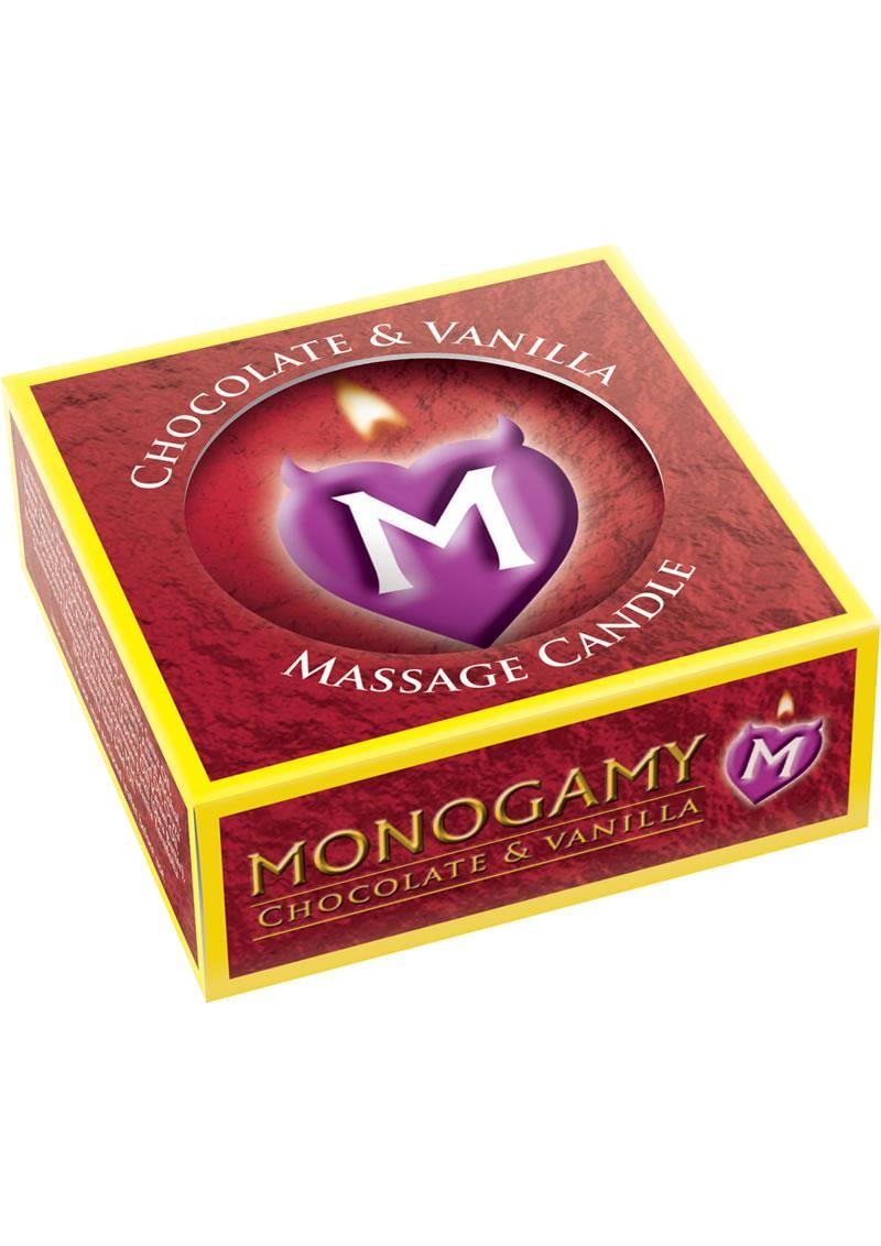 Monogamy Massage Candle Chocolate and Vanilla