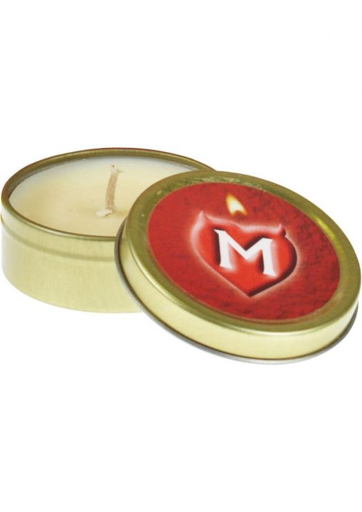 Monogamy Massage Candle Amber and Spice