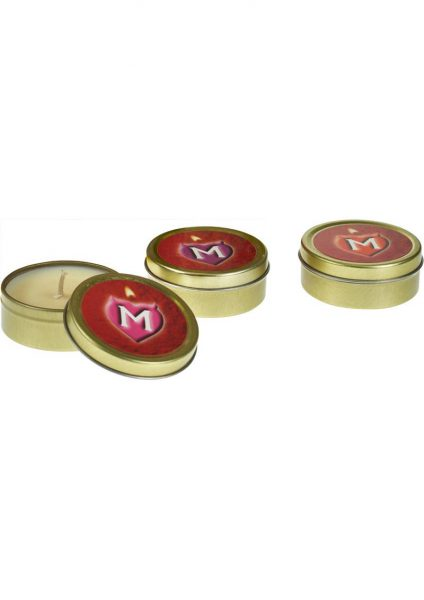 Monogamy Massage Candle Set 3 Each Per Pack
