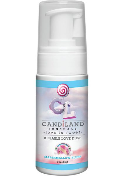 Candiland Sensuals Kissable Love Dust Marshmallow 3 Ounce