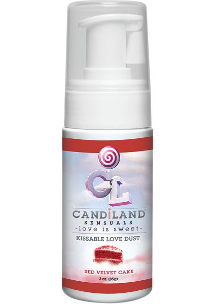 Candiland Sensuals Kissable Love Dust Red Velvet 3 Ounce