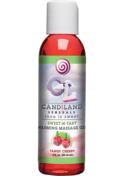 Candiland Sweetntart Warm Gel Cherry