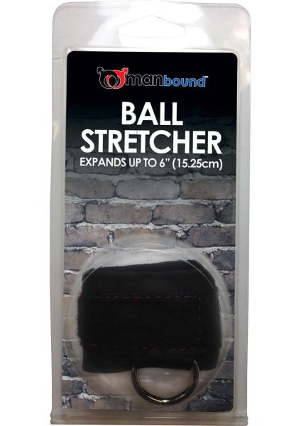 Manbound Ball Stretcher Black