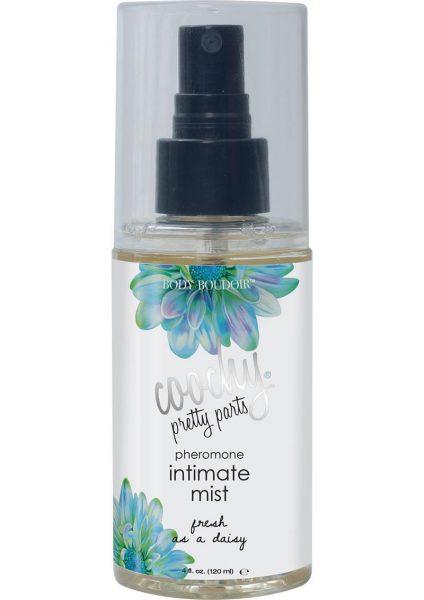 Coochy Pretty Parts Pheromone Intimate Mist Spray Fresh As A Daisy 4 Ounce