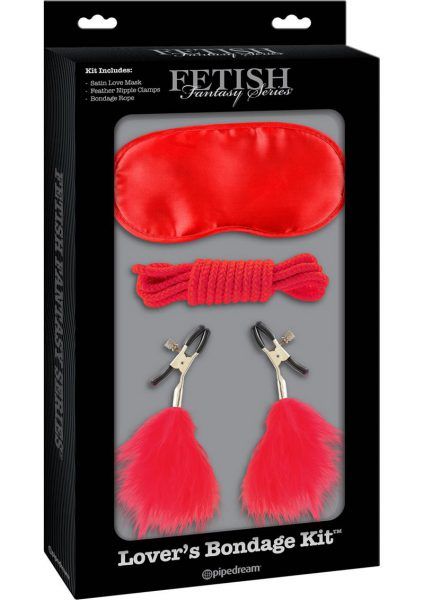 Fetish Fantasy Series Limited Edition Lover's Bondage Kit Red