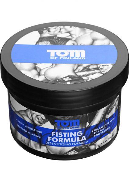 Tom Of Finland Fisting Formula Desensitizing Cream 8 Ounce