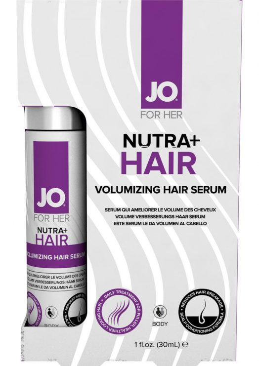Jo For Her Nutra Hair Volumizing Hair Serum 1 Ounce